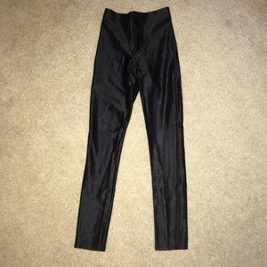 Black American apparel disco pants